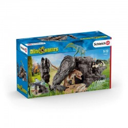 Schleich® 41461 Set de dinosaurios con cueva