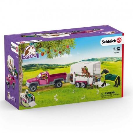 Schleich® 42346 Camioneta con Remolque para Caballos