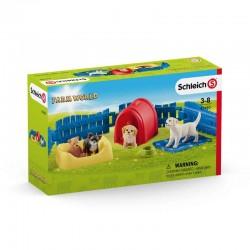 Schleich® 42480 Recinto para Cachorros
