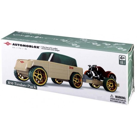 Automoblox® X10 Timber Pack