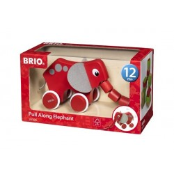 BRIO® Elefante para Tirar