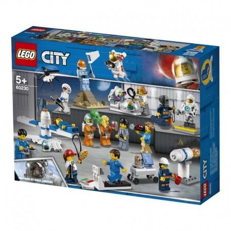 Lego® 60230 Pack de Minifigura: Investigación y Desarrollo Espacial