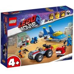 """Lego® 70821 Taller """"Construye y Arregla"""" de Emmet y Benny"""