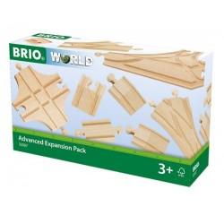 BRIO® 33307 Pack de Expansión de Vías Avanzado