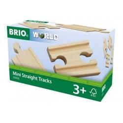 BRIO® 33333 Vías Rectas Mini
