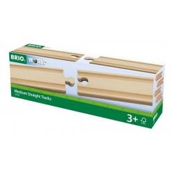 BRIO® 33335 Vías Rectas Medianas
