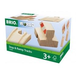 BRIO® 33385 Pack Vías de Parada y Rampas