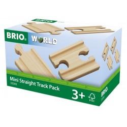 BRIO® 33393 Pack Vías Rectas Mini