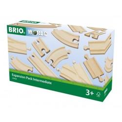 BRIO® 33402 Pack de Ampliación de Vías Mediano