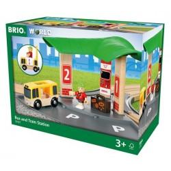 BRIO® 33427 Estación de Tren y Autobús
