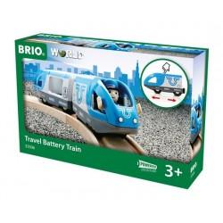 BRIO® 33506 Tren de Viaje con Pilas