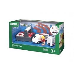 BRIO® 33510 Tren de Viaje con Control Remoto