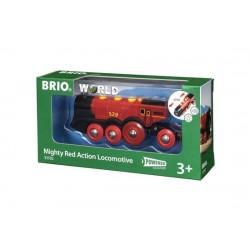 BRIO® 33592 Poderosa Locomotora Roja