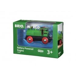 BRIO® 33595 Locomotora a Pilas Verde