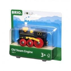 BRIO® 33617 Locomotora de Vapor Antigua