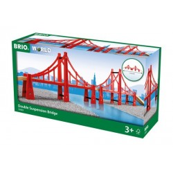 BRIO® 33683 Puente Colgante Doble