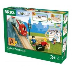 BRIO® 33773 Conjunto de Vía Ferroviaria Principiante
