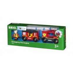 BRIO® 33811 Camión de Rescate de Bomberos