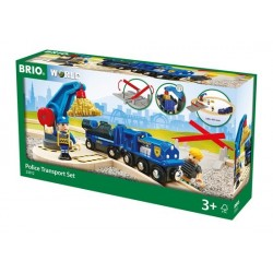 BRIO® 33812 Circuito Tren de Policía