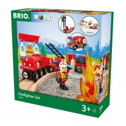 BRIO® 33815 Circuito Tren de Bomberos