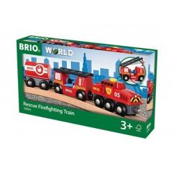 BRIO® 33844 Tren de Rescate de Bomberos