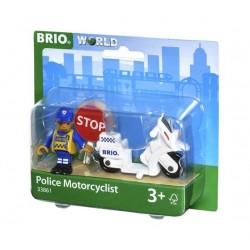BRIO® 33861 Motocicleta de Policía