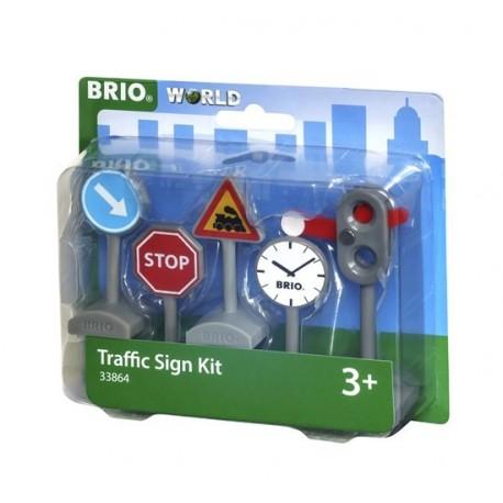BRIO® 33864 Kit de Señales de Tráfico
