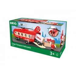 BRIO® 33886 Helicóptero de Transportes de Mercancía