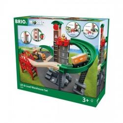 BRIO® 33887 Conjunto de Almacén de Carga y Descarga