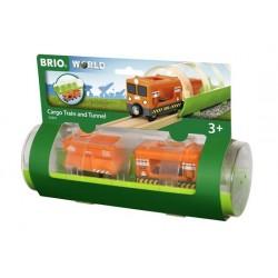 BRIO® 33891 Tren de Mercancías  y Túnel