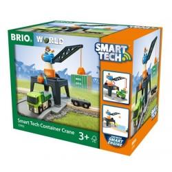 BRIO® 33962 Grúa de Contenedores Smart Tech