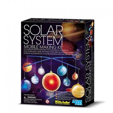 4M Kit de Fabricación, Móvil del Sistema Solar