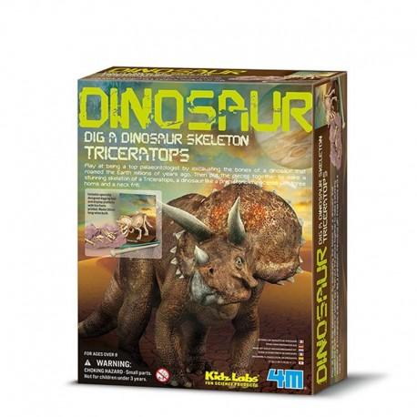 4M Esqueleto de Triceratops
