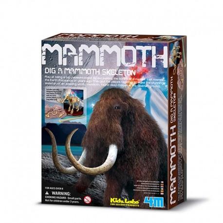 4M Esqueleto de Mammoth
