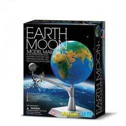 4M Kit de Creación de Modelo Tierra-Luna