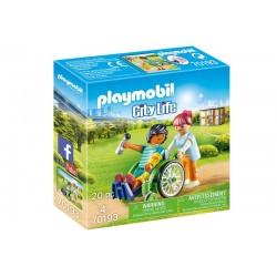 Playmobil® 70193 Paciente en Silla de Ruedas