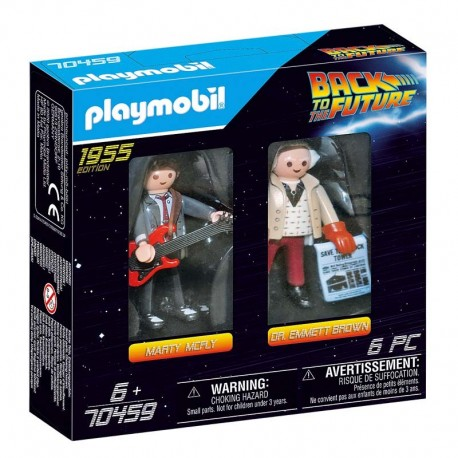 Playmobil® 70459 Back to the Future Marty Mcfly y Dr. Emmett Brown