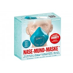 Playmobil® 70722 Máscara para nariz y boca de PLAYMOBIL talla L Turquesa