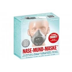 Playmobil® 70724 Máscara para nariz y boca de PLAYMOBIL talla M Gris Claro