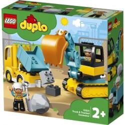 Lego® 10931 Camión y Excavadora con Orugas