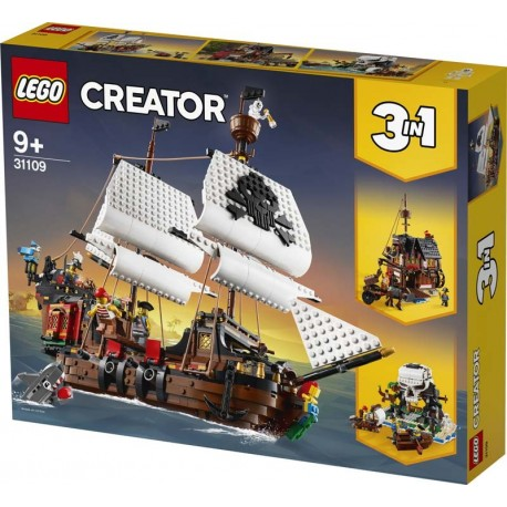 Lego® 31109 Barco Pirata