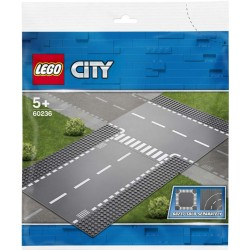 Lego® 60236 Rectas e Intersección en T