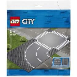 Lego® 60237 Curvas y Cruce