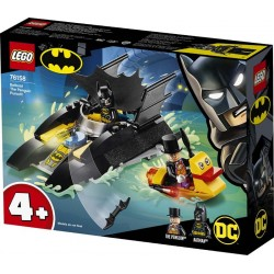 Lego® 76158 ¡Caza del Pingüino en la Batlancha!
