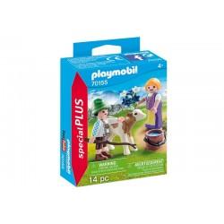 Playmobil® 70155 Niños con Ternero