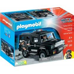 Playmobil® 5674 Vehículo Táctico de Policía
