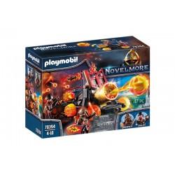 PlayPlaymobil® 70394 Catapulta de Lava de los Bandidos de Burnhammobil® 70393 Ariete de Fuego de los Bandidos de Burnham