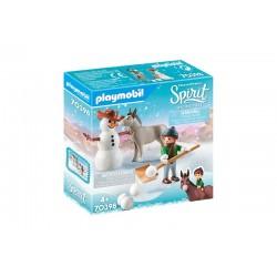 Playmobil® 70398 Muñeco de Nieve con Trasqui y Señor Zanahoria