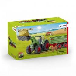 Schleich® 42379 Tractor con Remolque