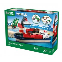 BRIO® 33061 Conjunto de Carga Portuaria